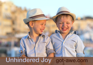 unhindered joy