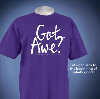 got awe t shirt